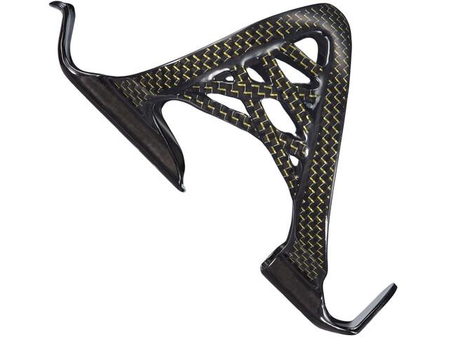 Supacaz Spider Cage Flaschenhalter Carbon gold